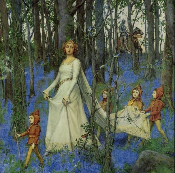607px-Henry_Meynell_Rheam_-_The_Fairy_Wood_1903